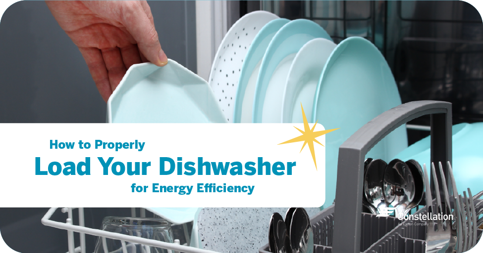 How to properly load your dishwasher for energy efficiency