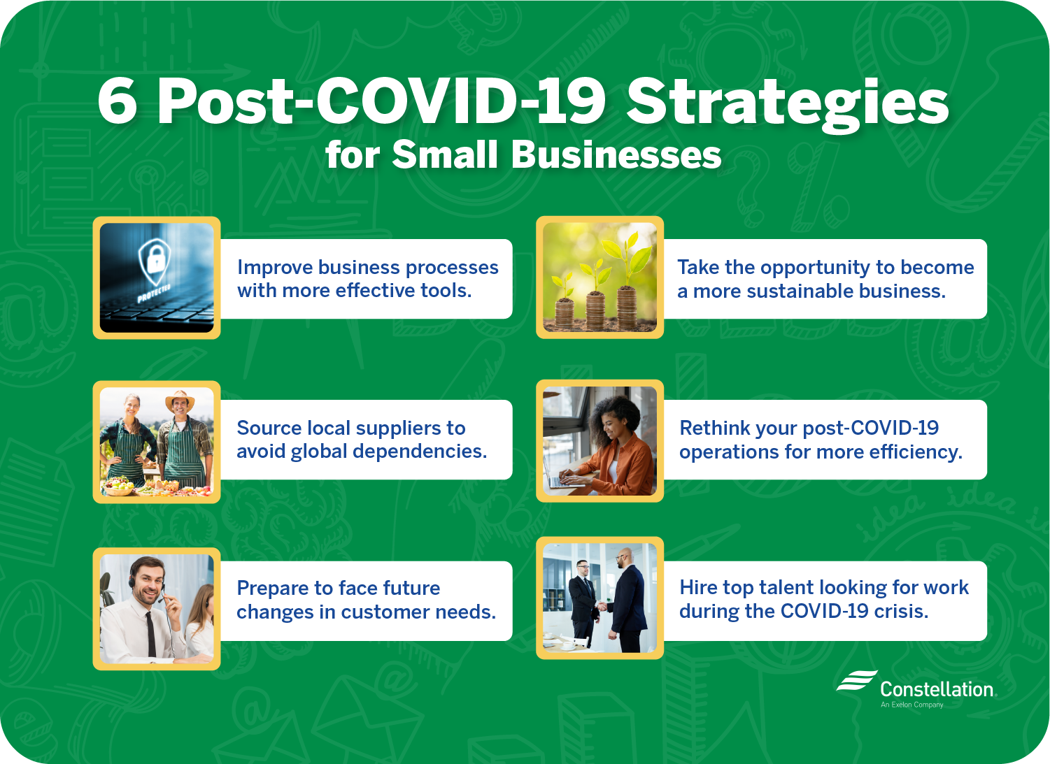 6 post-COVID-19 strategies for small businesses