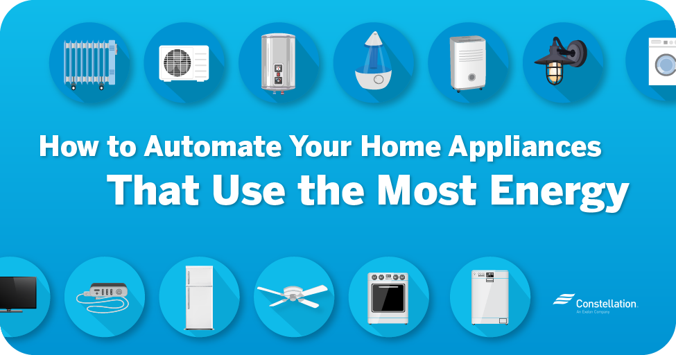 How to automate your home appliances that use the most energy