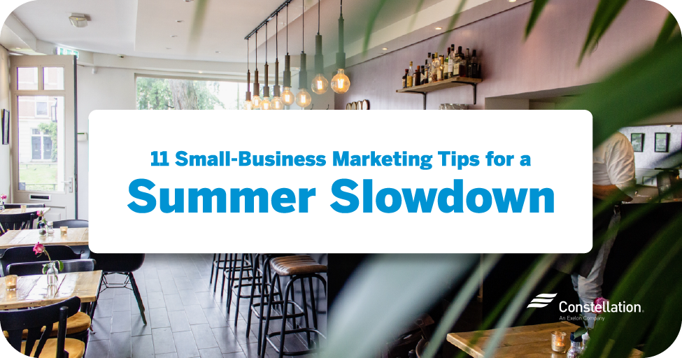 11 small-business marketing tips for a summer slowdown