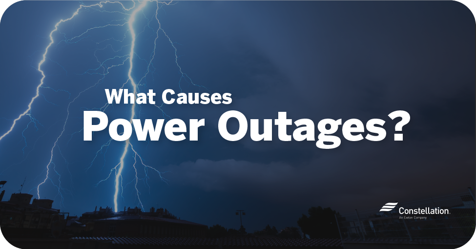 what causes power outages