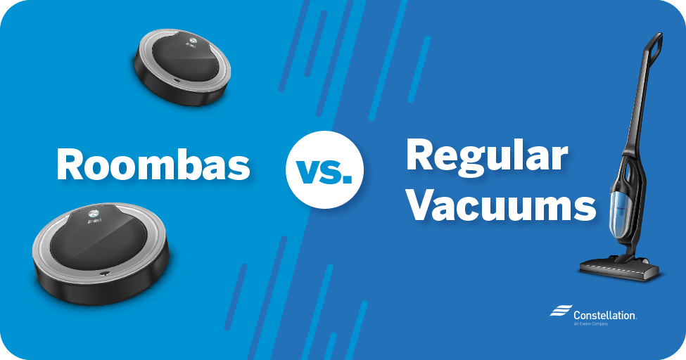 Roomba vs upright vacuums