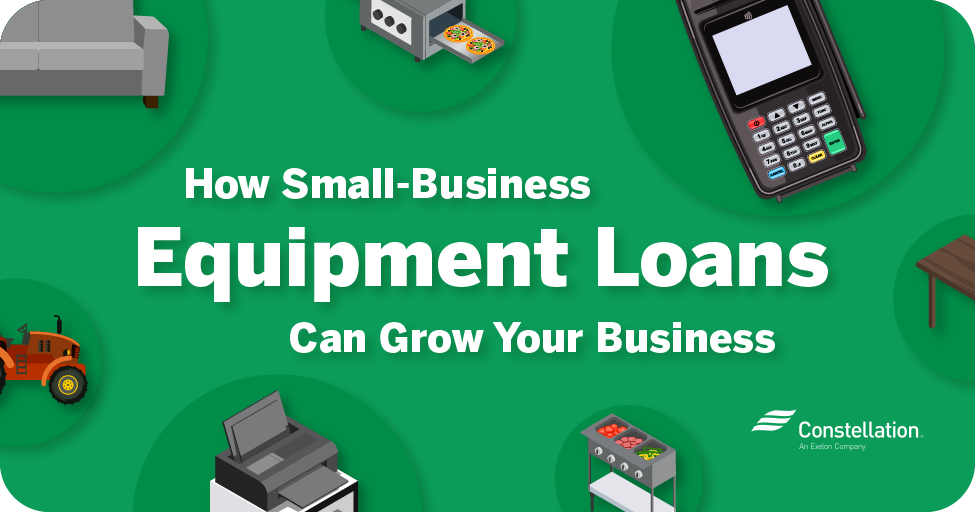 How small-business equipment loans can help grow your business
