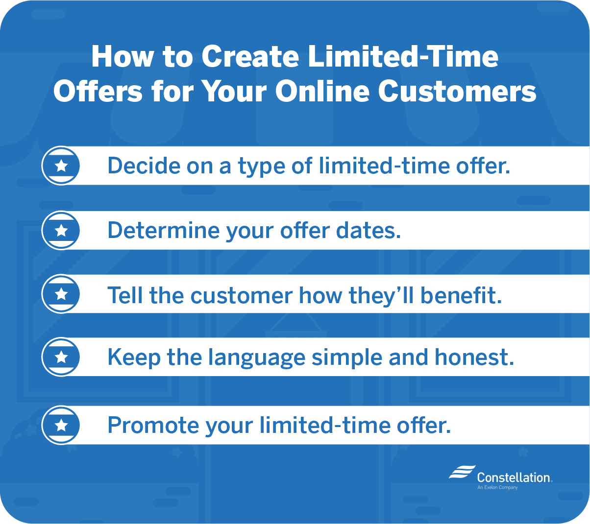Creating limited-time offers for your online customers