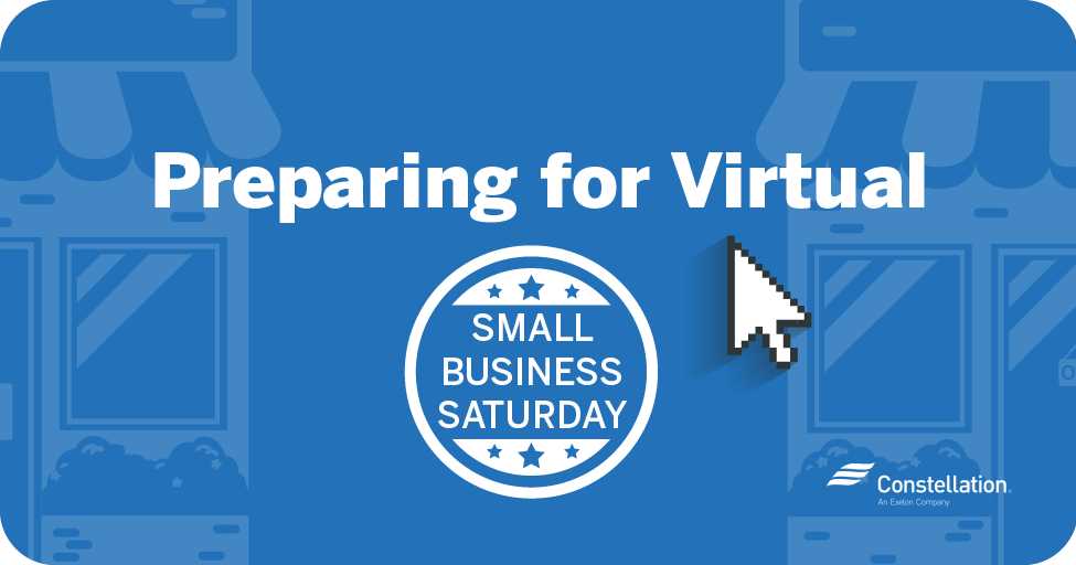 Preparing for virtual Small Business Saturday