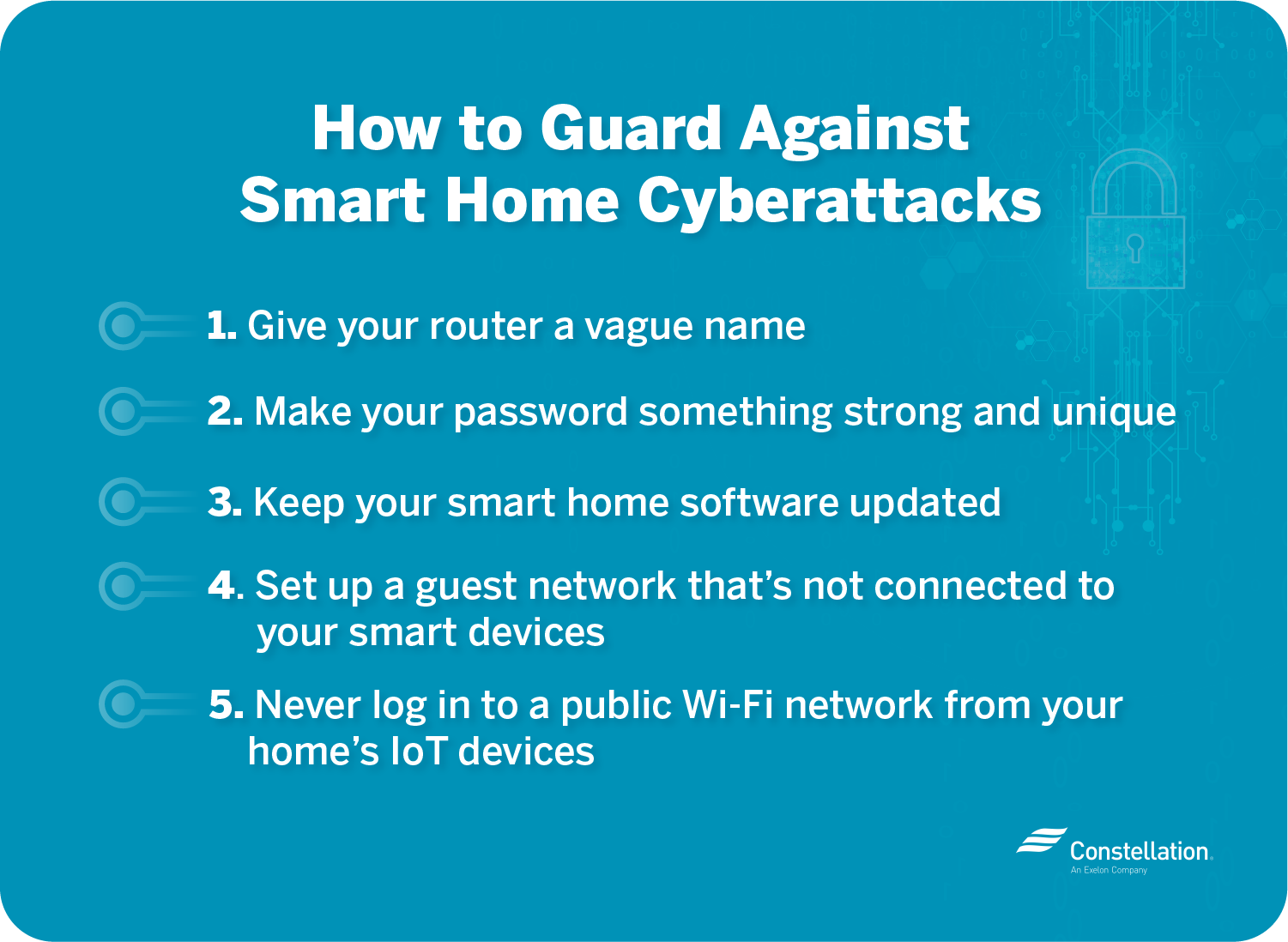 How to guard against smart home cyberattacks