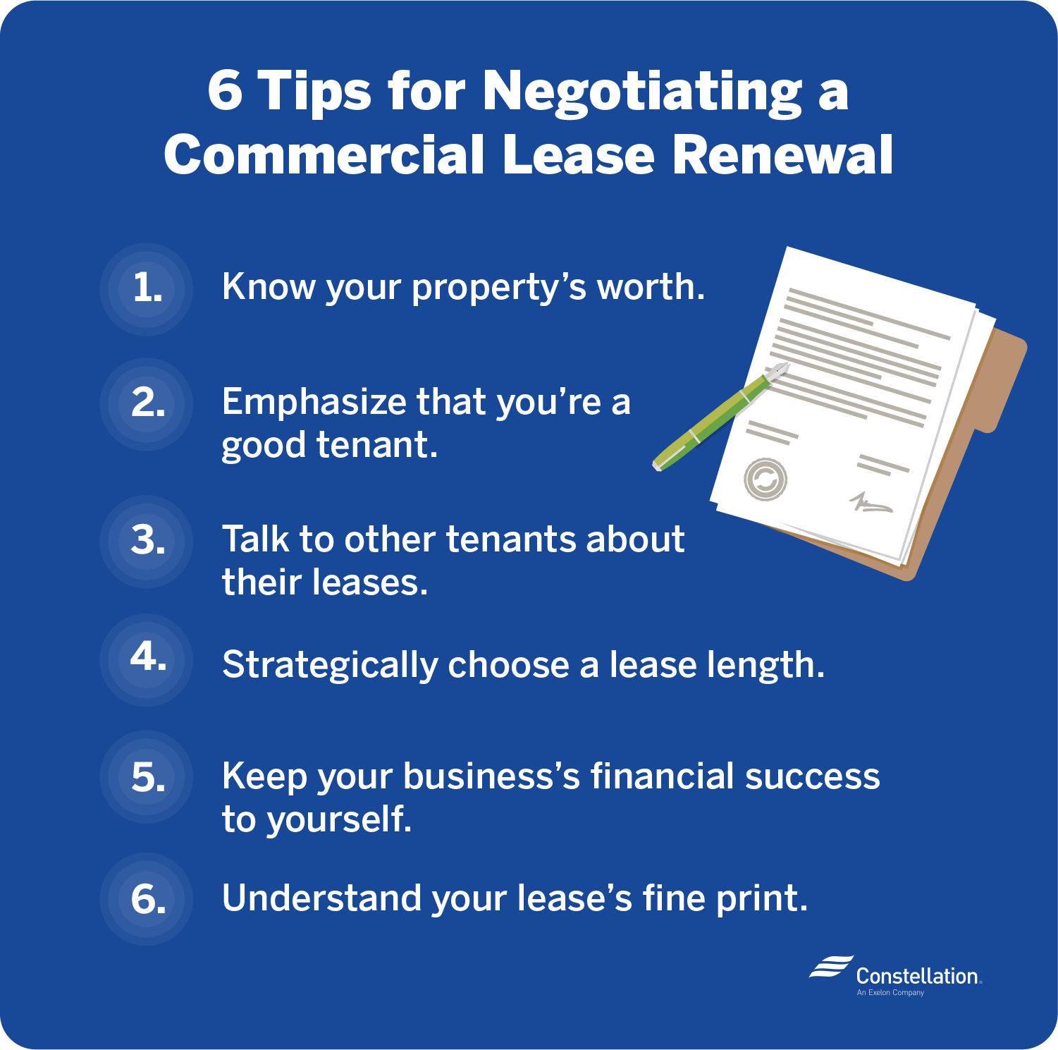 6 tips for how to negotiate a commercial lease renewal
