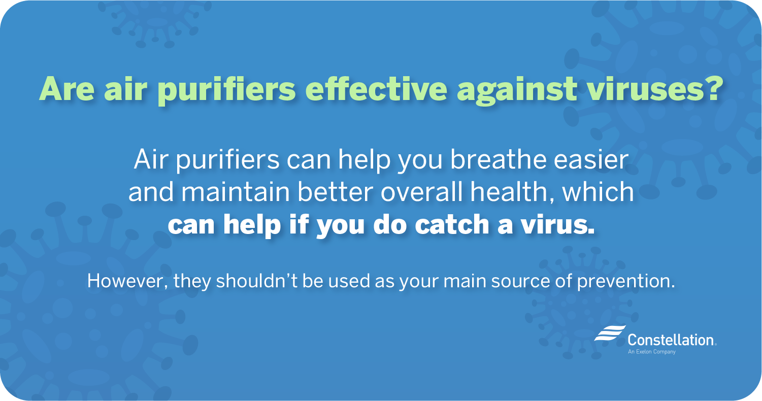 Are air purifiers effective against viruses?