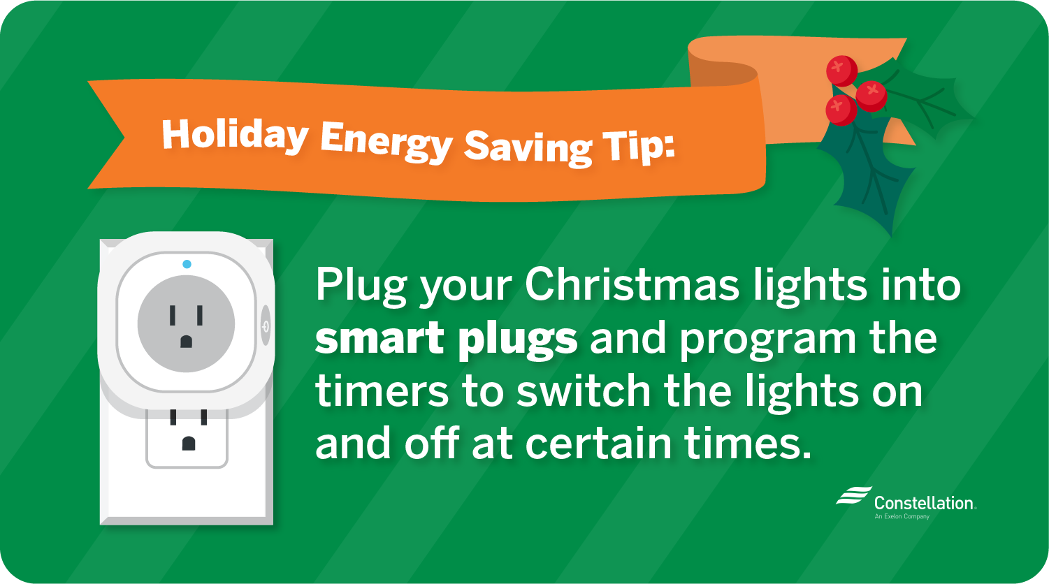 Smart plugs best tech for Christmas decorations