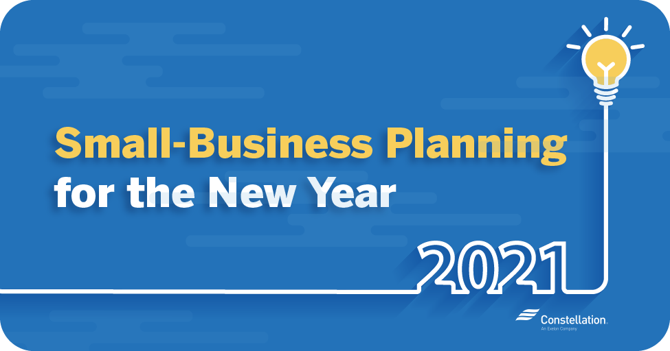 Small business planning for 2021 new year