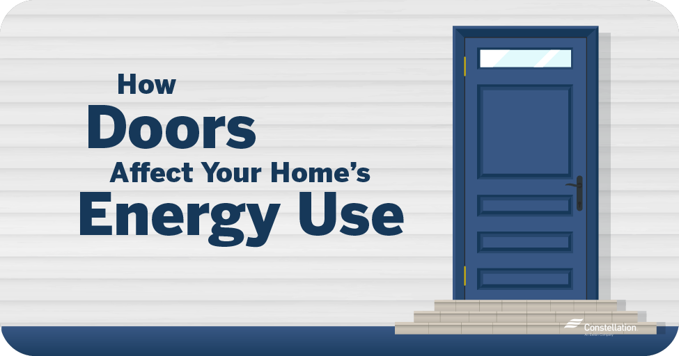 How doors affect your home's energy use