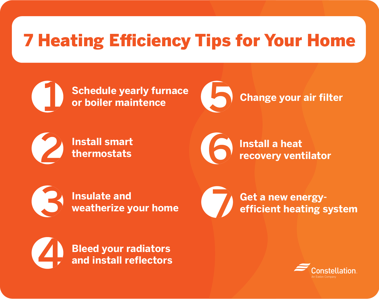 7 heating efficiency tips for your home