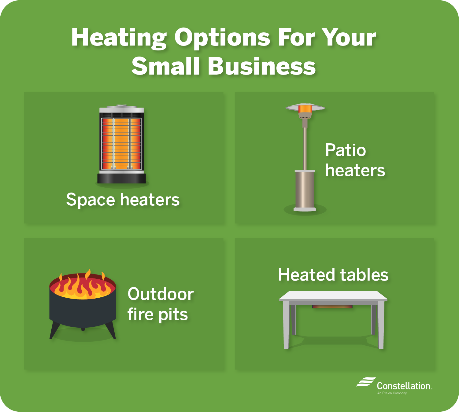 Heating options for your small business