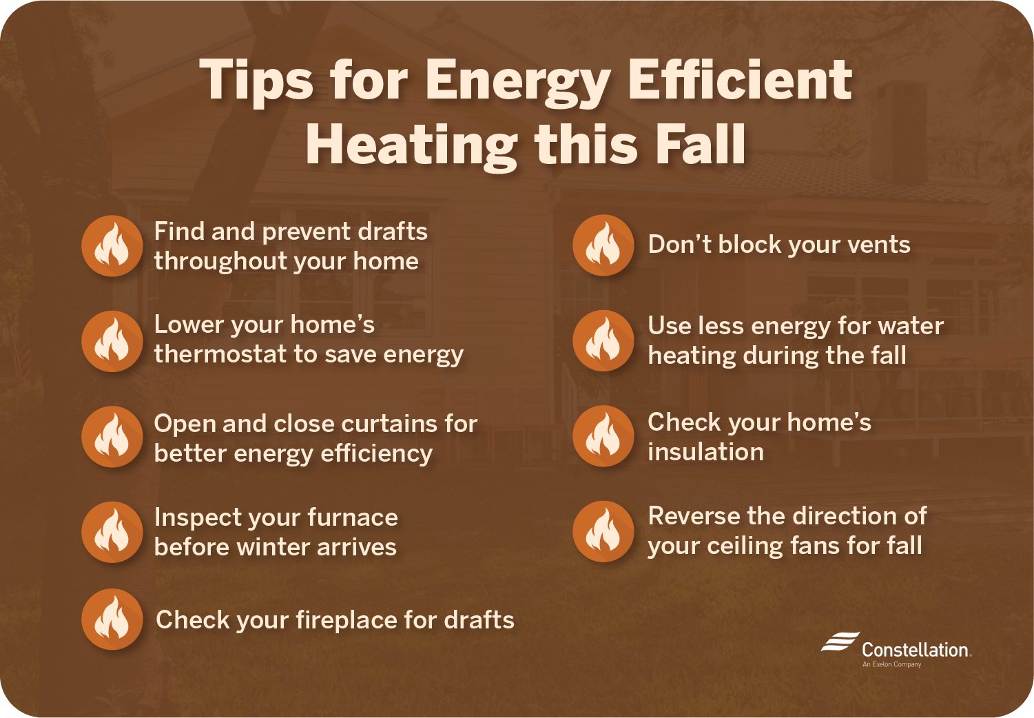9 Tips for Energy Efficient Heating this Fall