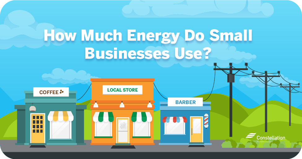 How much energy do small businesses use?