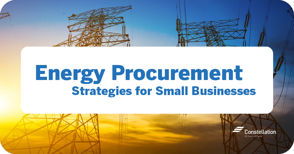 Energy procurement strategies for small businesses