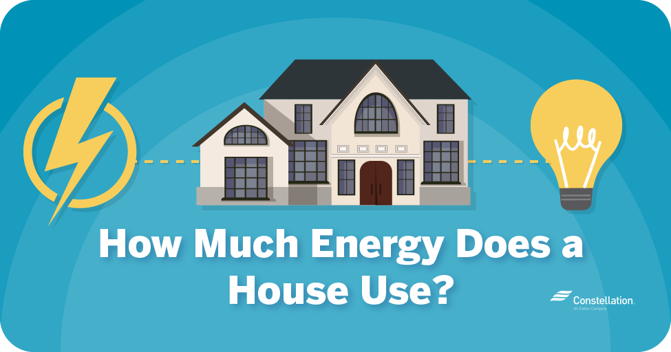 How much energy does a house use?