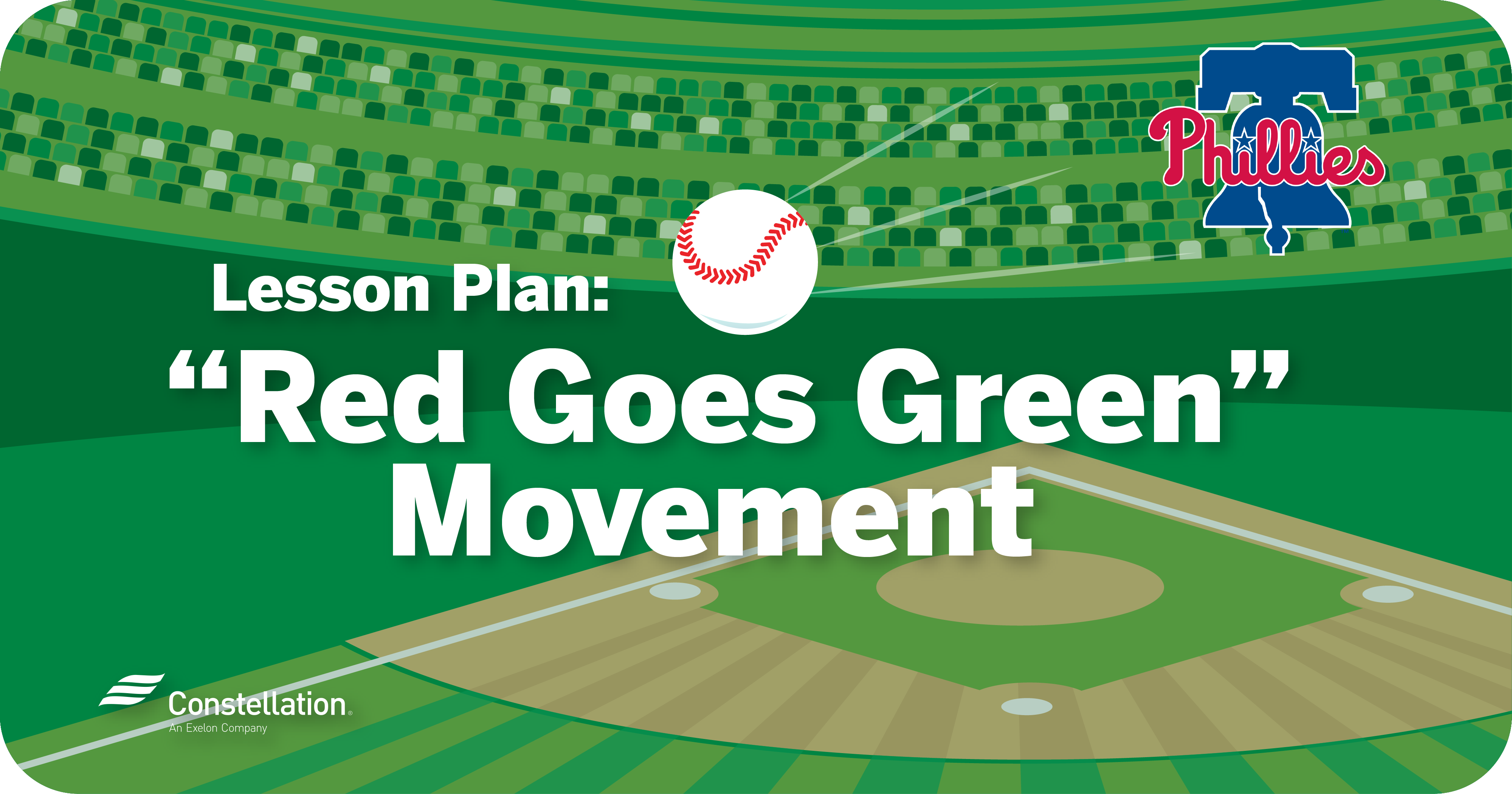 Lesson Plan: Red Goes Green Movement