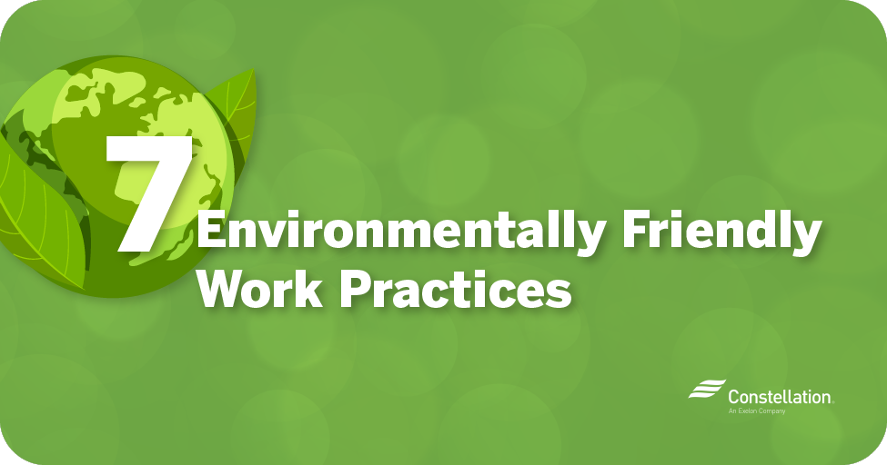 7 environmentally sustainable business practices