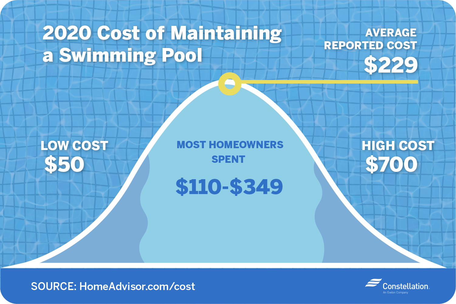 2020 cost of maintaining a swimming pool