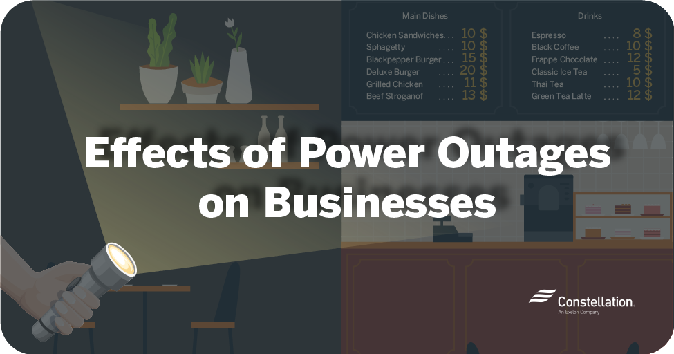 Effects of power outages on businesses