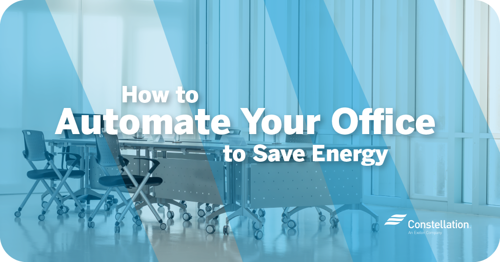 How to automate your office to save energy