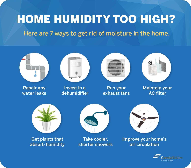 Home humidity too high?