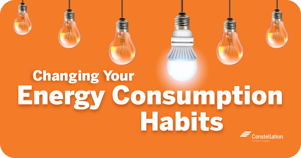Changing your energy consumption habits