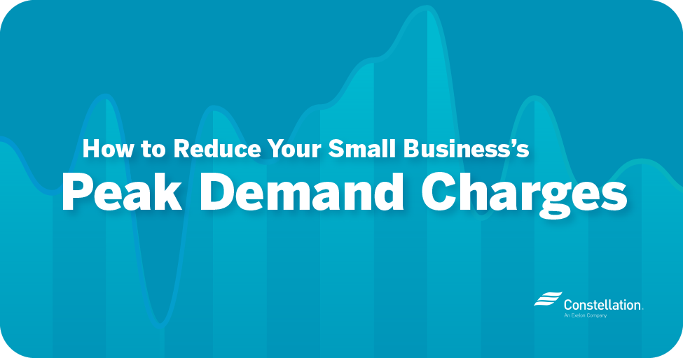 How to reduce your small business's peak demand charges