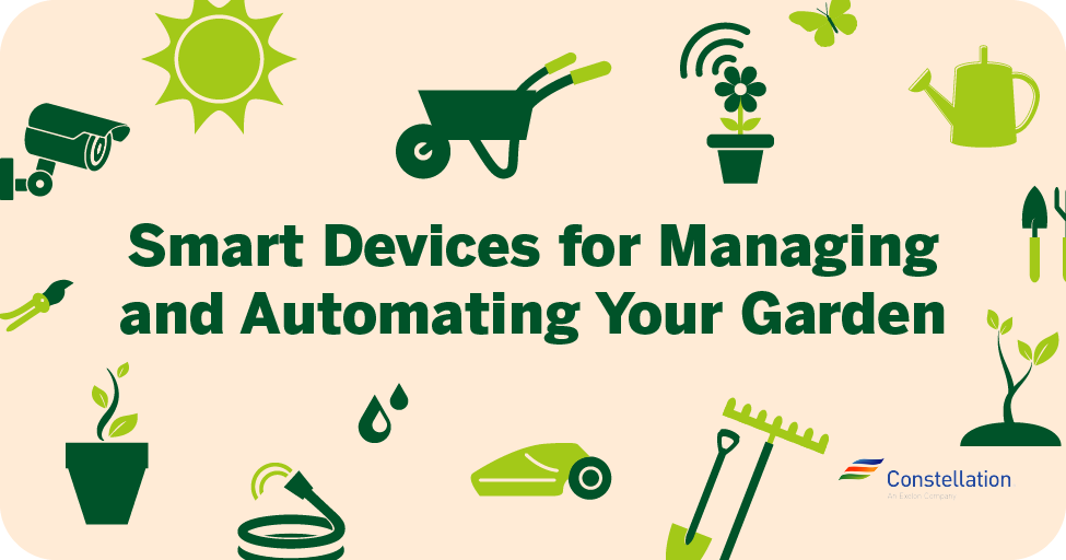 Smart devices for managing and automating your garden