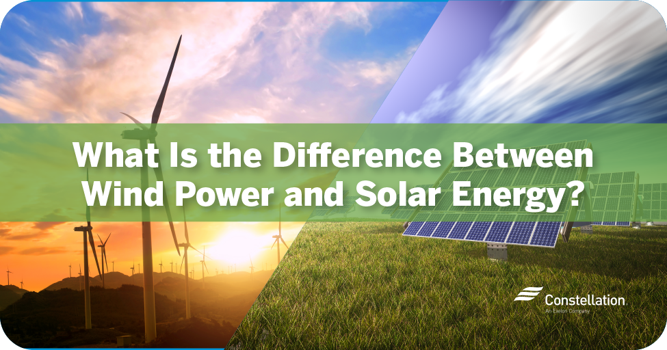 What is the Difference Between Wind Power and Solar Energy?