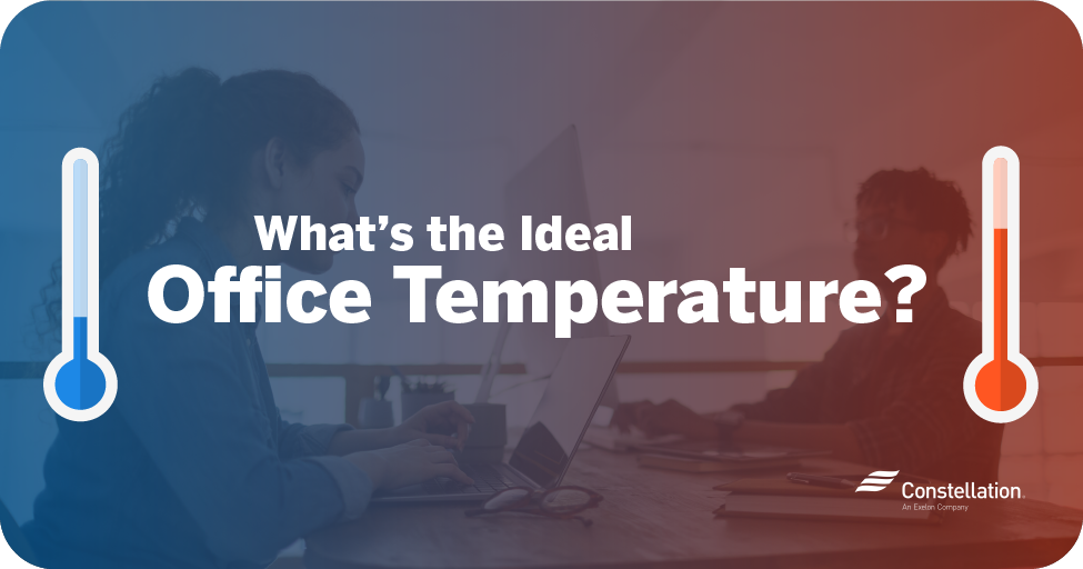 What's the ideal office temperature