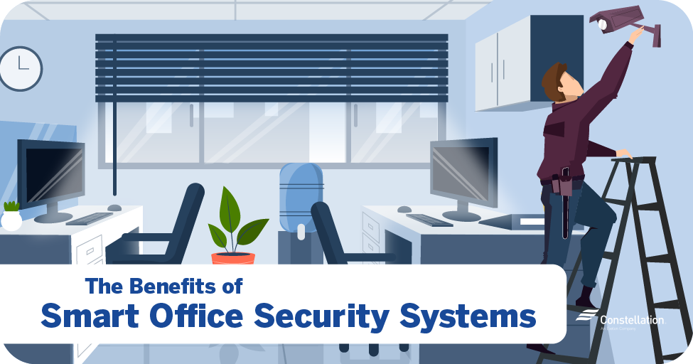 The benefits of smart office security systems
