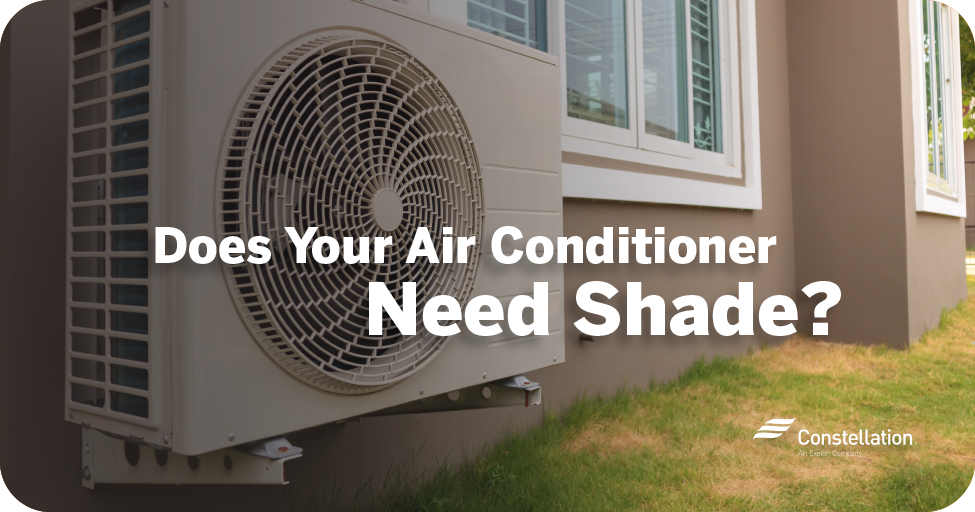 Does your air conditioner need shade?