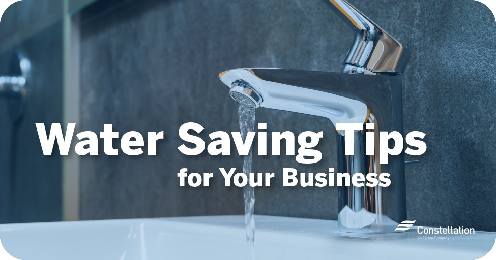 Water saving tips for your business