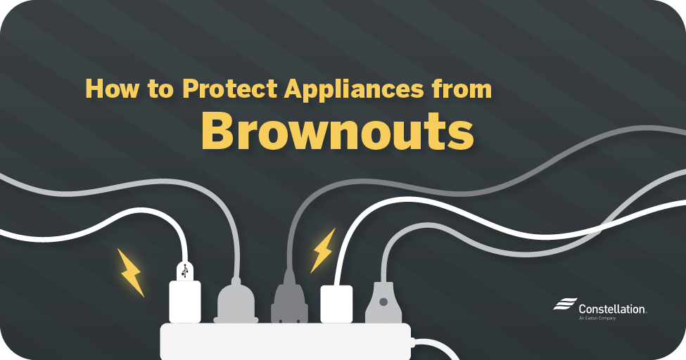 How to protect appliances from brownouts