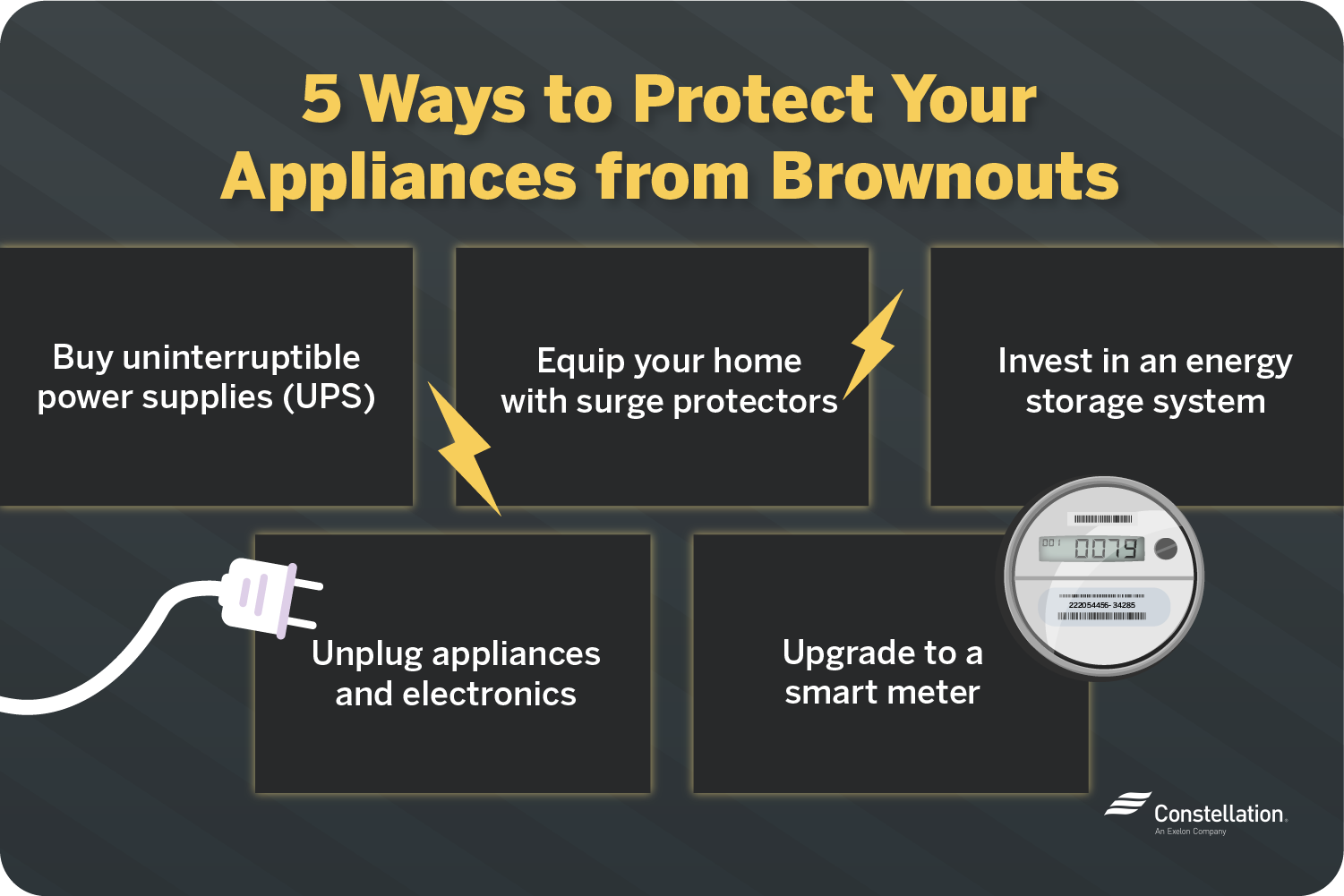5 ways to protect your appliances from brownouts