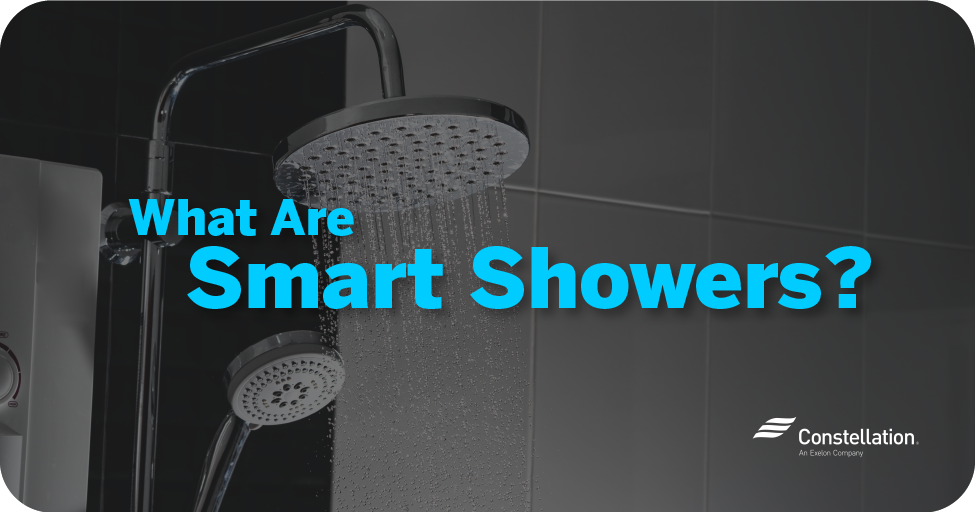 What are smart showers?